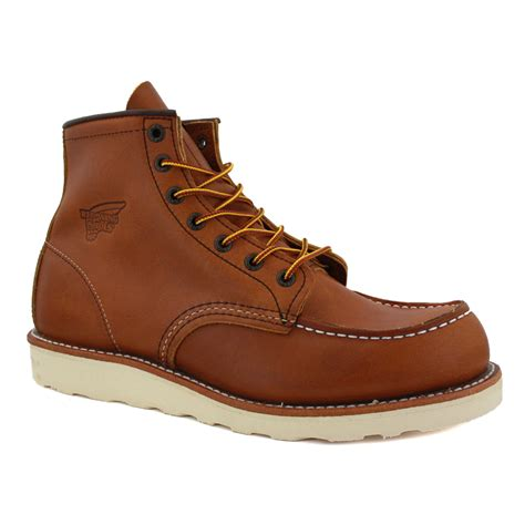 mens wing boots wing 6 inch boot 00875 3 mens laced leather boots
