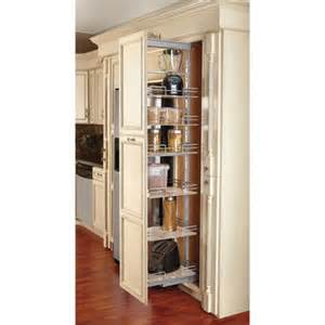 cabinet pull out shelves kitchen pantry storage rev a shelf soft close pull out pantry with maple shelves