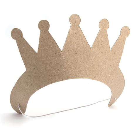 Crown Papercraft - paper mache crown hobbycraft