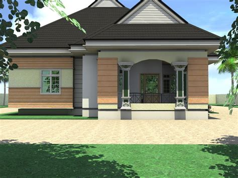 4 Bedroom Bungalow Architectural Design Architectural Designs For Nairalanders Who Want To Build Properties 6 Nigeria