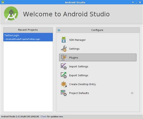 android studio plugins tip authentication with and fabric