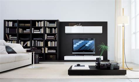 tv room furniture modern wall units