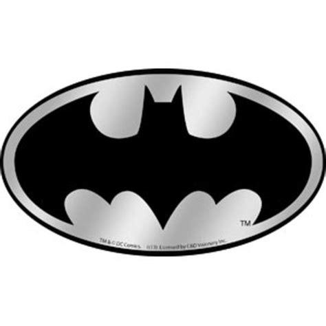 Decals For Home Decor by Batman Logo Chrome Sticker