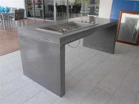 bbq bench free standing bbq bench top concrete studio sinks furniture architectural