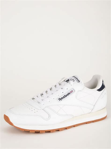 all white sneakers buy reebok classic leather all white sneakers for