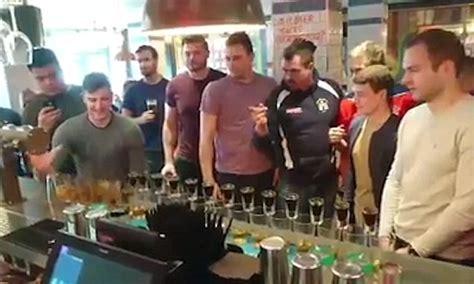 pub game 3 tonbridge juddians hit the pub after game is frozen off
