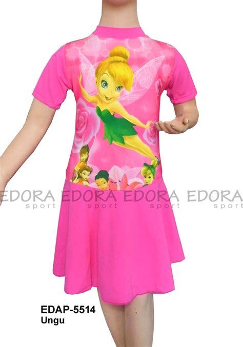 Baju Renang Anak Cewek Baju Renang Anak Rok baju renang diving rok karakter edap 5514 ungu