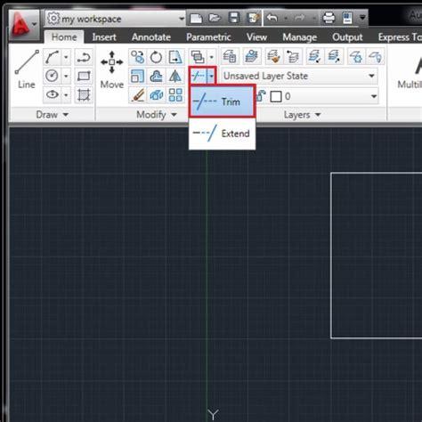 autocad tutorial trim command how to trim in autocad howtech