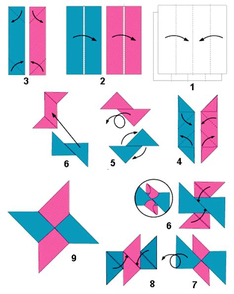 membuat origami shuriken origami bela diri cara membuat pedang dan bintang ninja