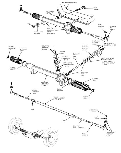 Steering Rack And Pinion Replacement by Repair Guides Steering Manual Rack And Pinion