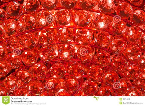 design pattern in ruby ruby crystal pattern from a chandelier stock photo image