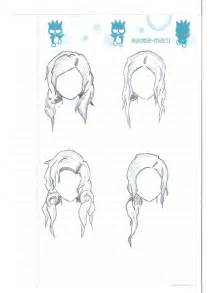hair template hair template 1 by kevin ke on deviantart