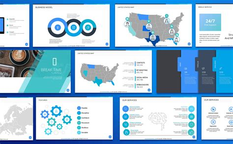 Braintech Ppt Slides For Consulting Business Powerpoint Template 66803 Slide Template In Powerpoint