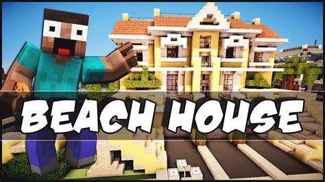 Minecraft House Inspiration by Minecraft Beach House Youtube