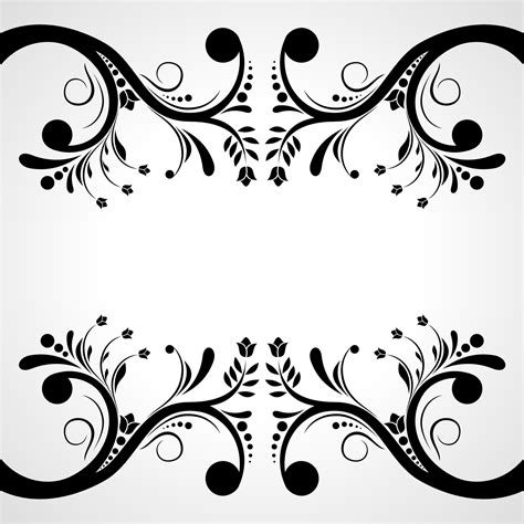 flower pattern drawing vector vector for free use flower pattern vector