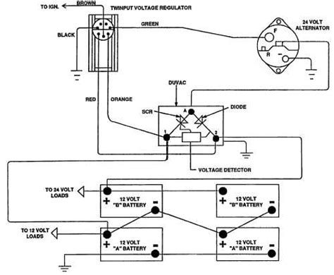 12 volt alternator wiring diagram volvo get free image