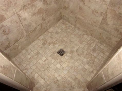 Installing Tile In Shower Pebble Shower Floors For Tiled Showers How To Install Small Tile For Shower Floor In
