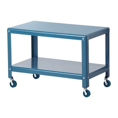 ikea rolling cart new ikea ps 2012 rolling steel turquoise coffee table cart