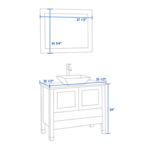 Vanity Height For Vessel Sink by Vessel Sink Cabinet Height Manicinthecity