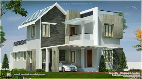 Double Garage Designs beautiful double storey villa feet kerala home design 377720 two story