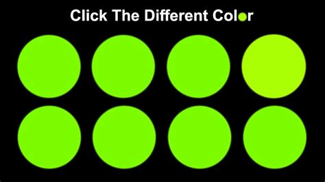 how many colors can you see can you actually see all the colors
