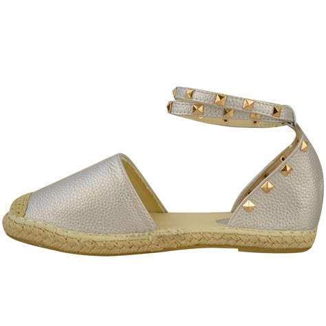 flat sandals for summer womens espadrilles ankle strappy flat summer