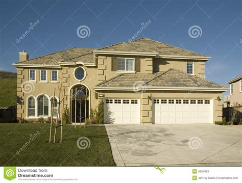 tract home high end tract home stock photos image 4554893