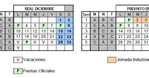 Calendario Definitivo Calendario Definitivo Diciembre 2012 Cgt Lkn Volkswagen