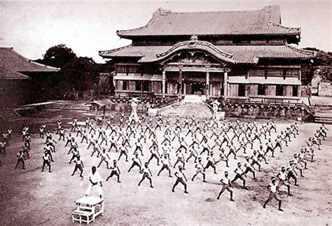 history of okinawa karate japan karate do hakua kai the history of martial arts