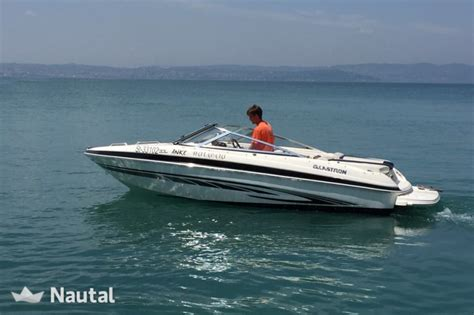 boat rental garda lake motorboat rent glastron boats gt 185 in porto di moniga