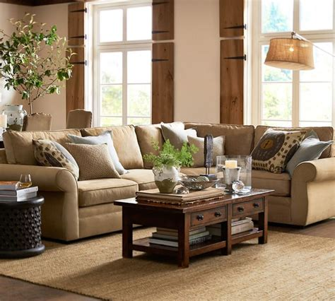 Pottery Barn Living Room by Pottery Barn