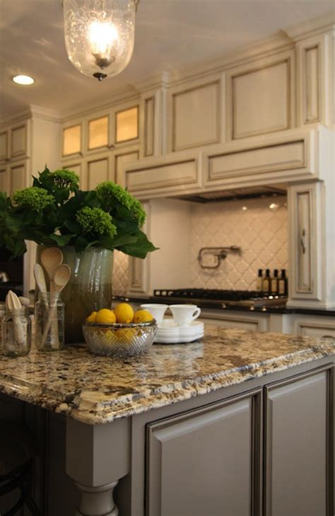 grey kitchen cabinets with granite countertops gold granite countertops transitional kitchen m e