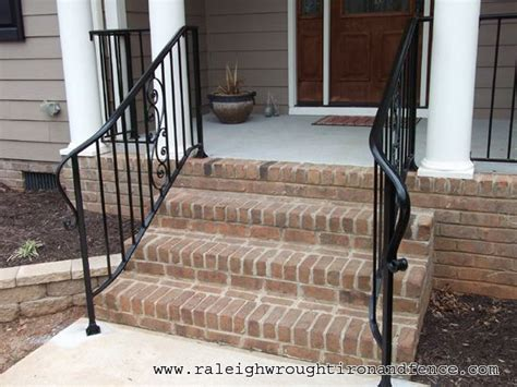 wrought iron front porch railings wrought iron porch railings wilmington nc custom wrought