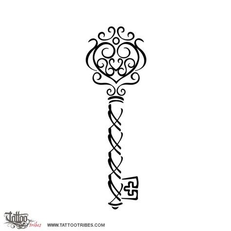 small skeleton key tattoo of skeleton key bond custom