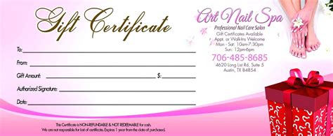 gift certificate template powerpoint template gift certificate template powerpoint