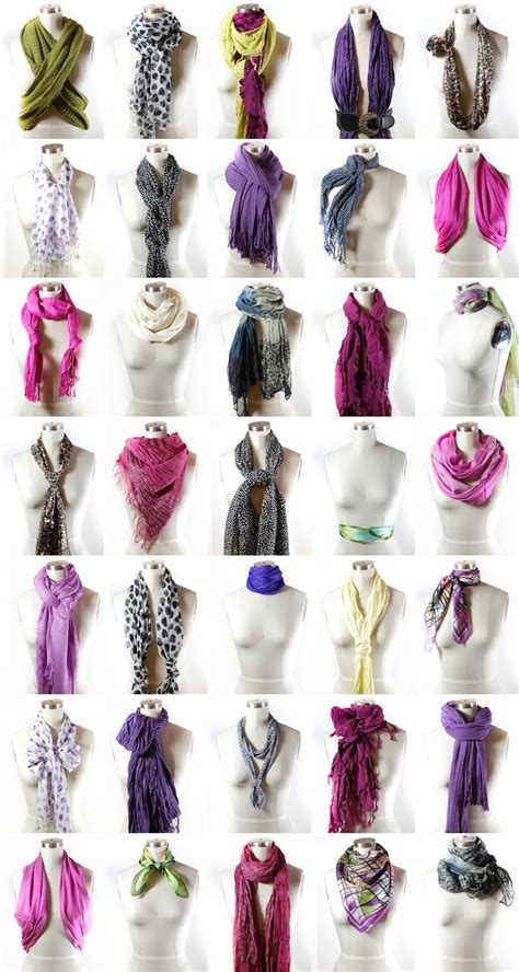 40 ways to wear your winter scarf ties scarfs and tie a