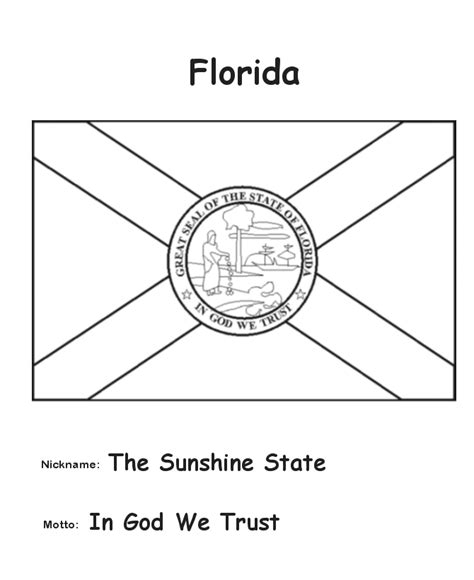 usa printables florida state flag state of florida