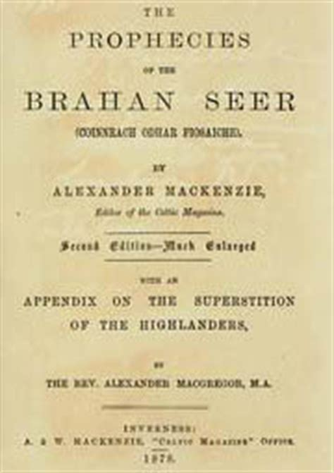 alec mackenzie s of volume 9 books the prophecies of the brahan seer by mackenzie