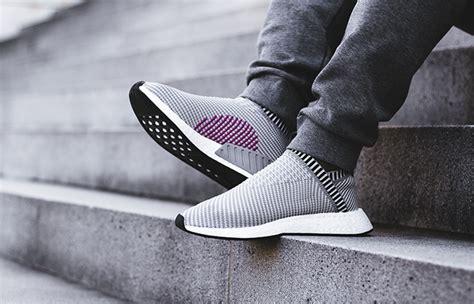 Adidas Nmd Cs 2 Premium Quality adidas nmd cs2 grey pink on foot look fastsole co uk