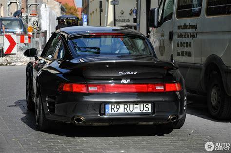 Porsche Turbo Ruf by Ruf 993 Turbo R 15 October 2016 Autogespot
