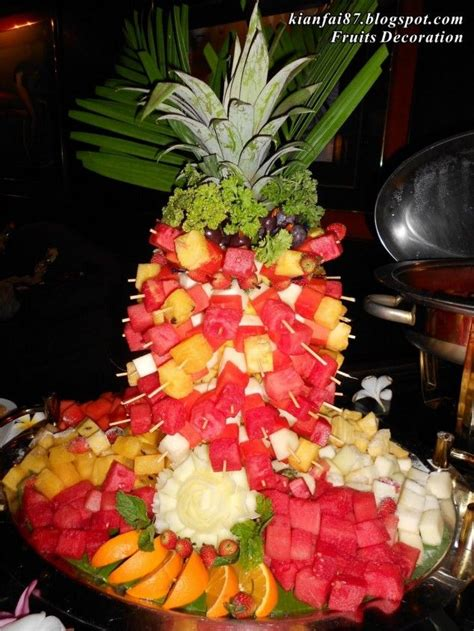 fruit decorations villa fruit decoration buffet 634x845 interesting