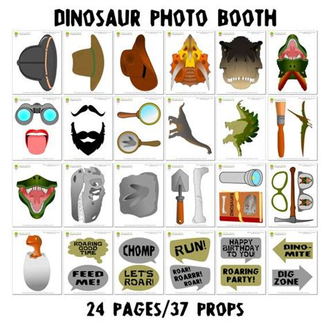 printable dinosaur photo booth props 239 best diy photo booth props images on pinterest diy