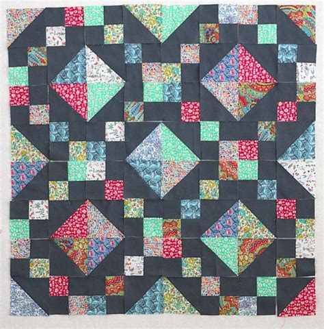 Chain Quilt Tutorial by 1000 Ideas About Chain Quilt On Quilts