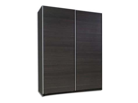 armoire 150 cm portes coulissantes armoire 2 portes coulissantes l 150 cm fast conforama