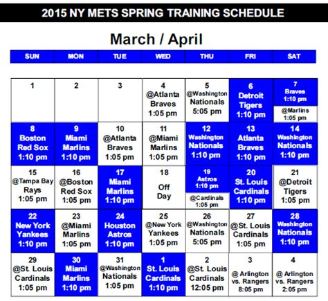 mets announce 2015 reporting dates mets