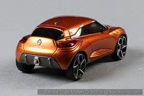 List Of Renault Cars Renault Concept Scale Models In 1 43 Scale Autodocious
