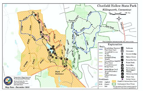chatfield park chatfield hollow state park map killingworth ct mappery