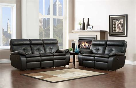 homelegance sofa reviews homelegance wallace reclining sofa set black bonded