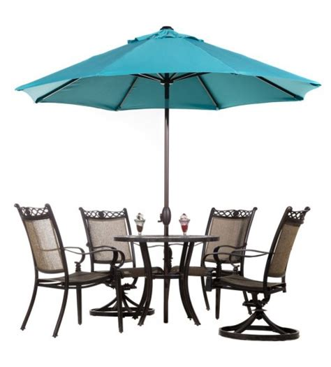cars table and chairs with umbrella abba patio 9 fade resistant sunbrella fabric aluminum