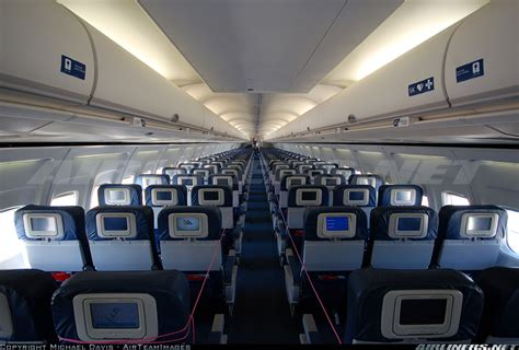 United Airlines 757 Interior by Boeing 757 232 Delta Air Lines Aviation Photo 1429088